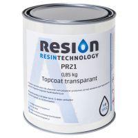 Polyester topcoat transparant 0,85KG