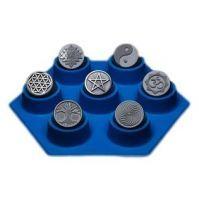 Moule Sacré 7 symboles 25mm
