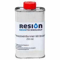 RESION Diluant pinceau lent 60 emballage de 250 ml