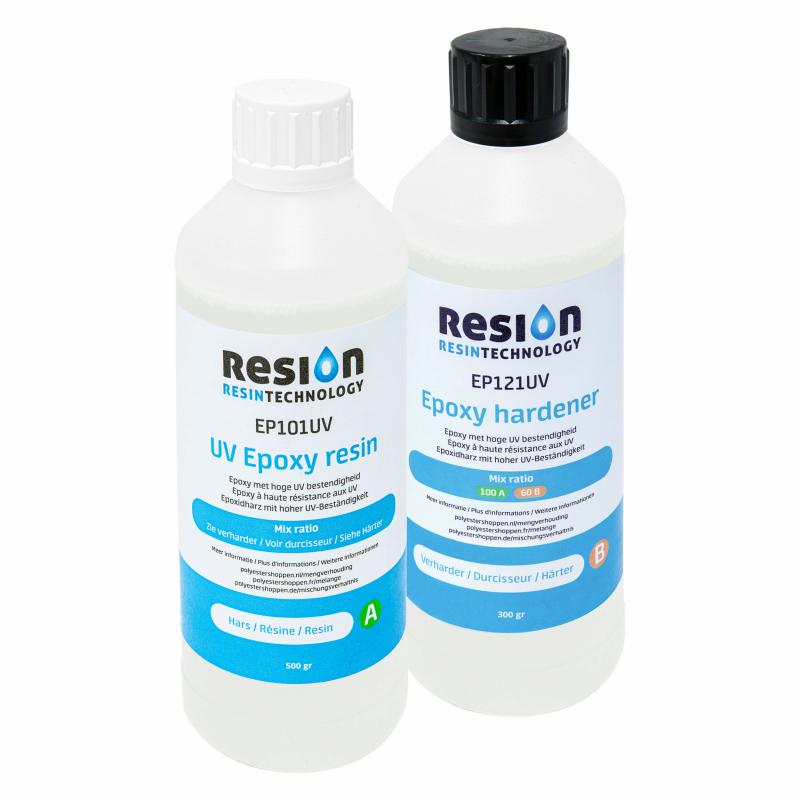 RESION Résine époxy UV 800 grammes