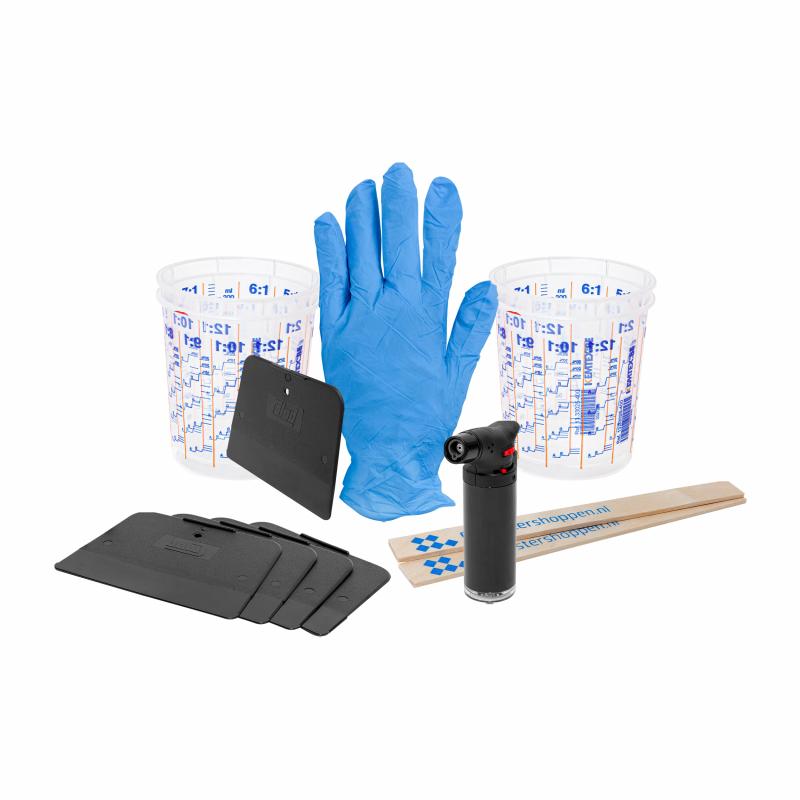 Pack de matériaux auxiliaires Resin Art