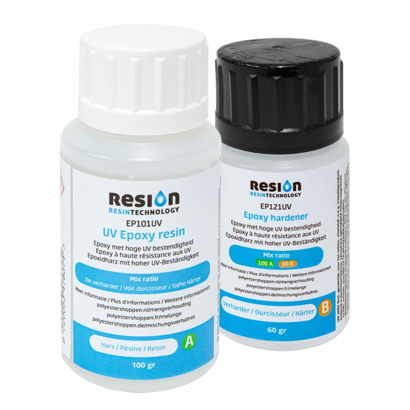 RESION UV résine époxy 160 grammes