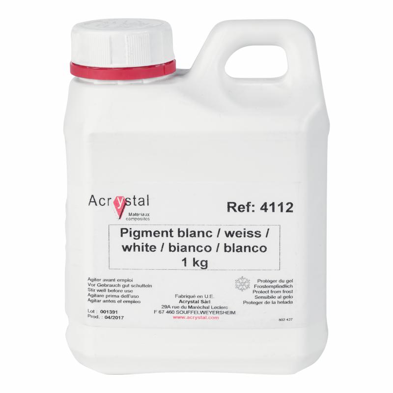 Acrystal pigment wit
