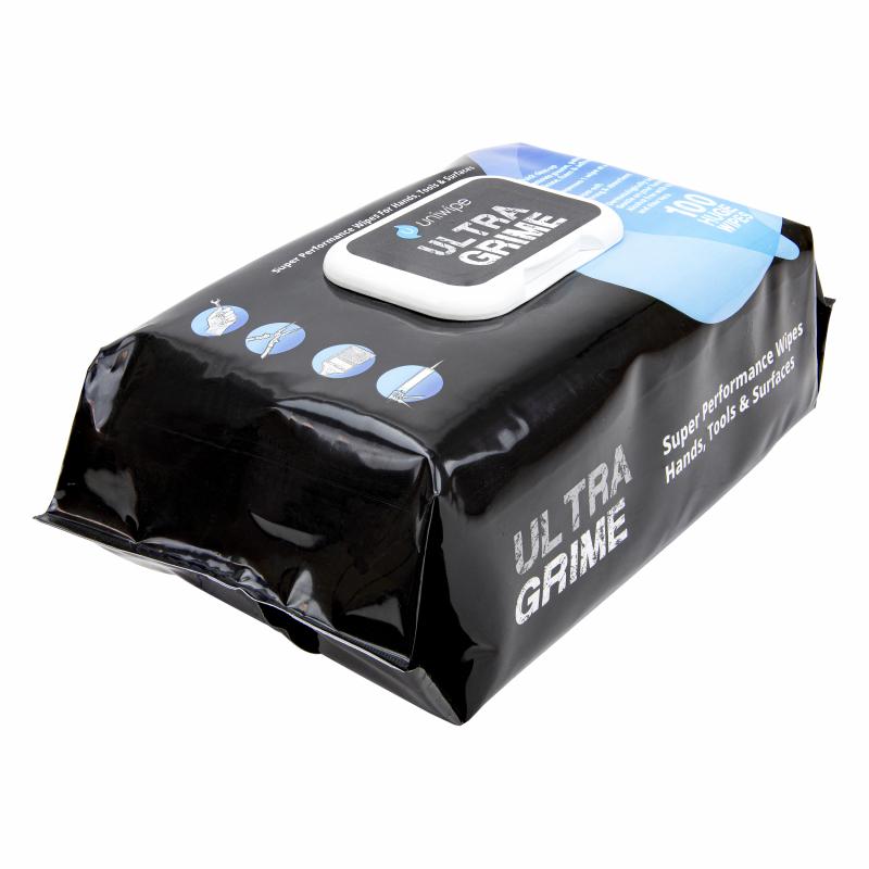 Lingettes de nettoyage Uniwipe Ultragrime