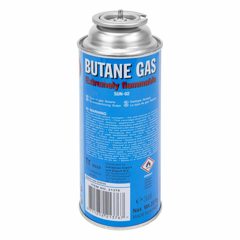 Cartouche de gaz pour brûleurs à gaz