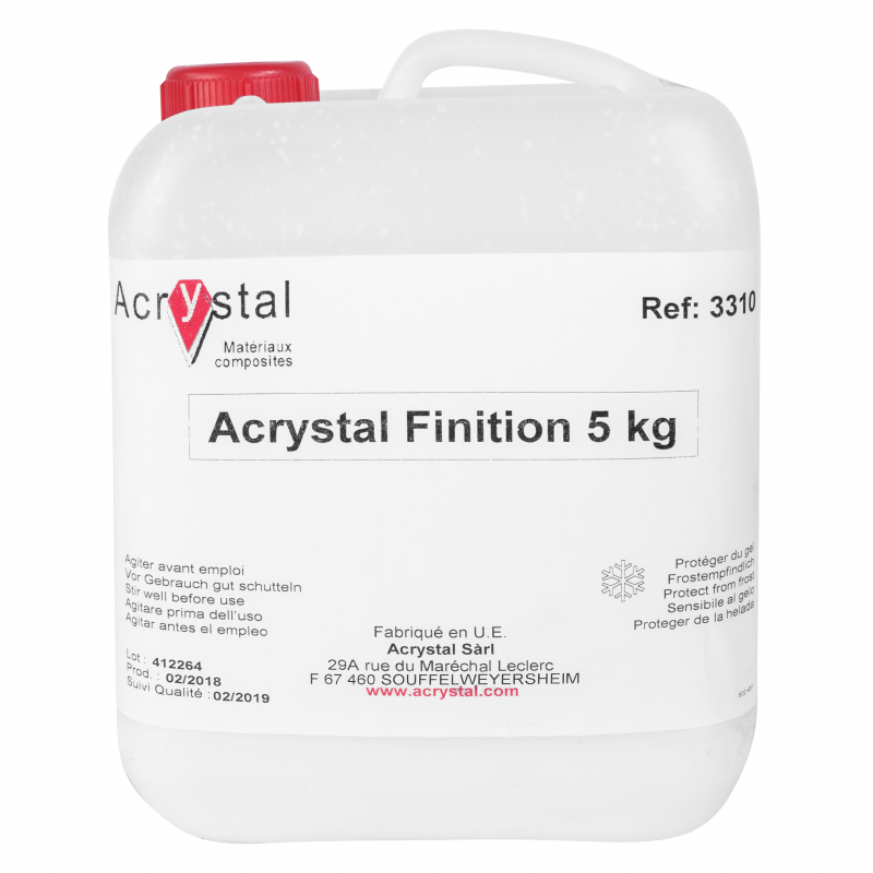 Acrystal Sealer / Finition