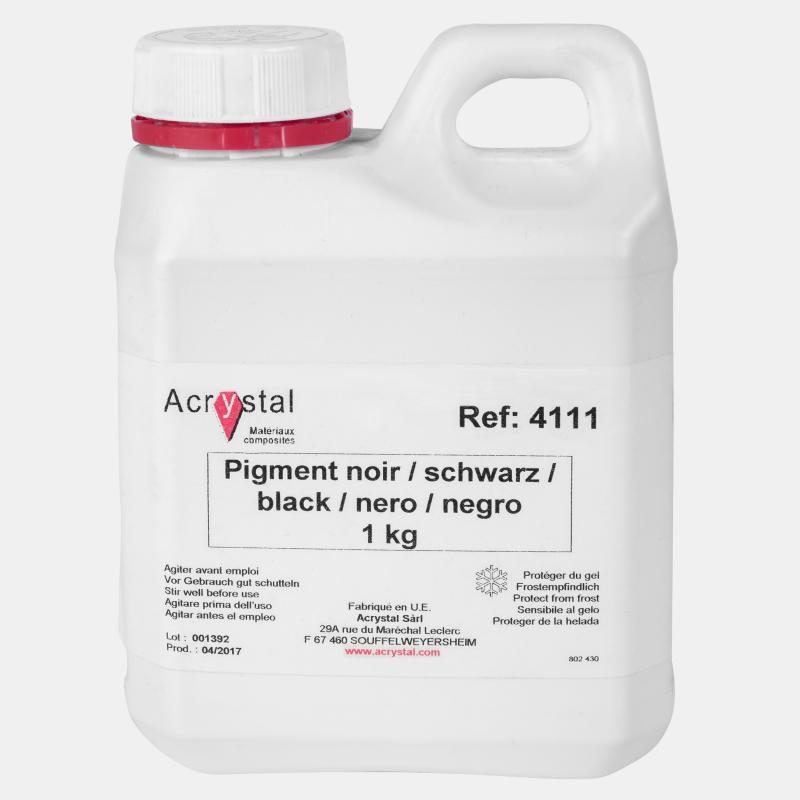Acrystal pigment zwart