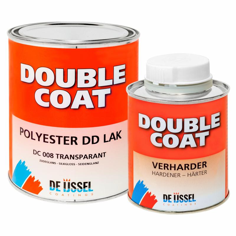 De IJssel DD laqué double couche satin 1 kg avec durcisseur