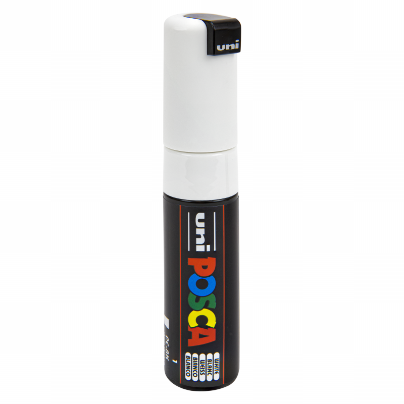 Posca stift PC-8K wit