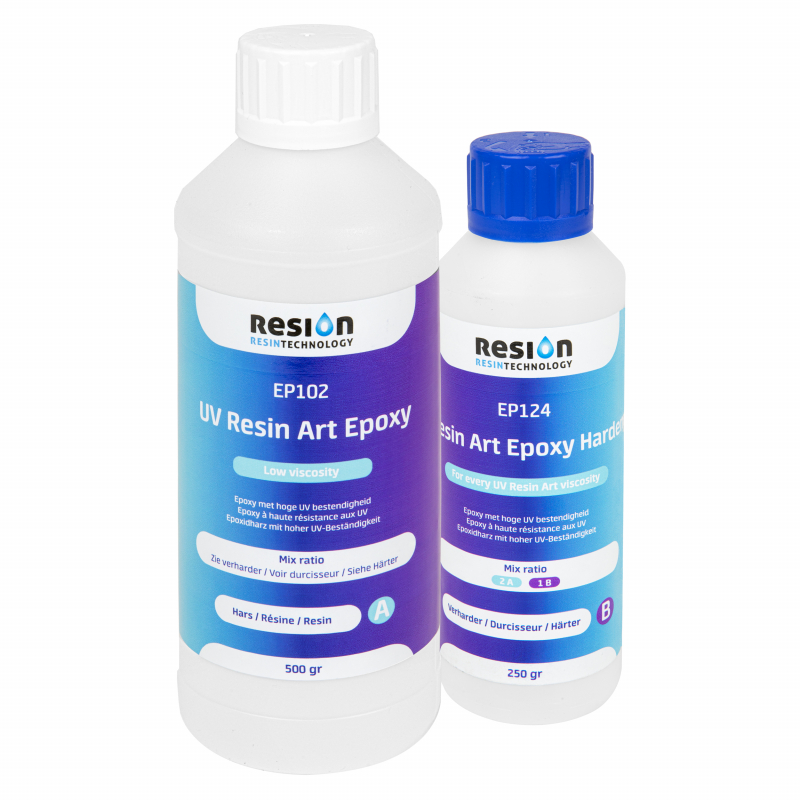 RESION UV Resin Art Epoxy LV 0,75kg