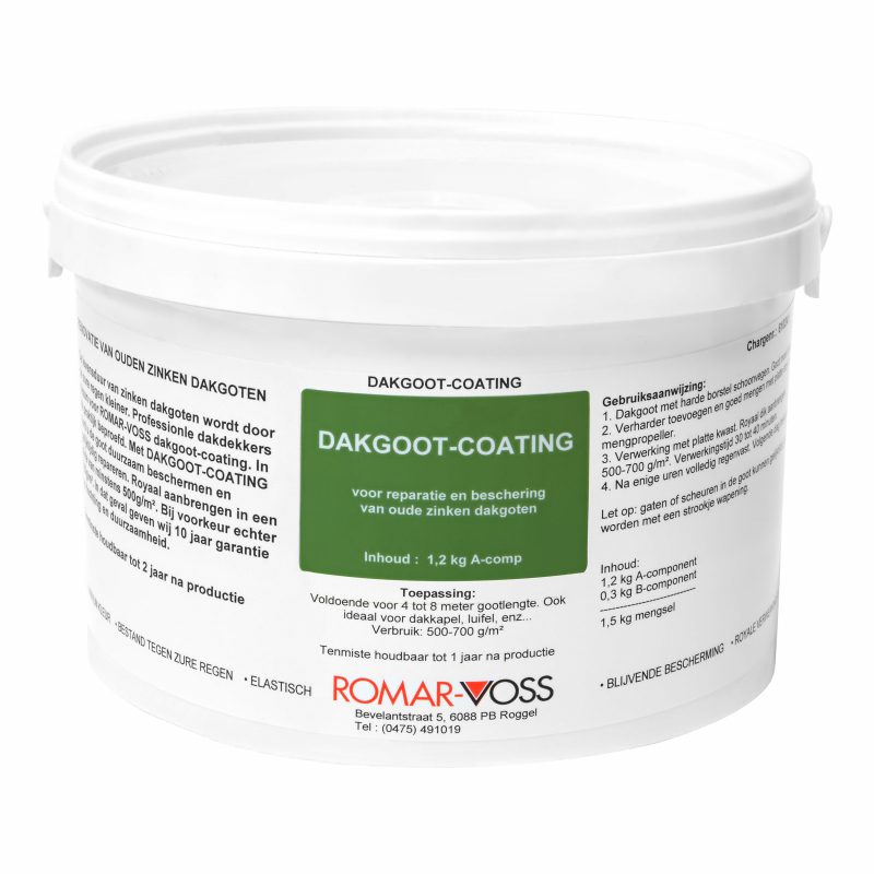 Romar-Voss PU Dakgootcoating basis