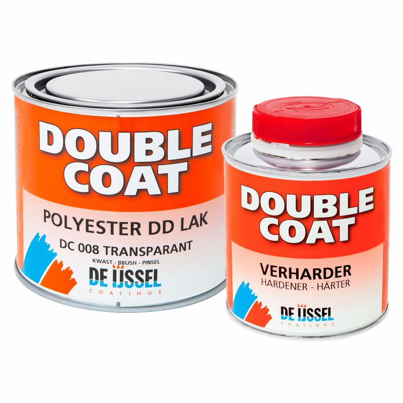 De IJssel Double Coat Laque DD haute brillance 0,5 kg avec durcisseur