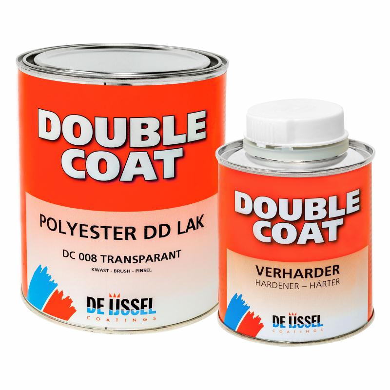 De IJssel DD laqué double couche haute brillance 1 kg avec durcisseur