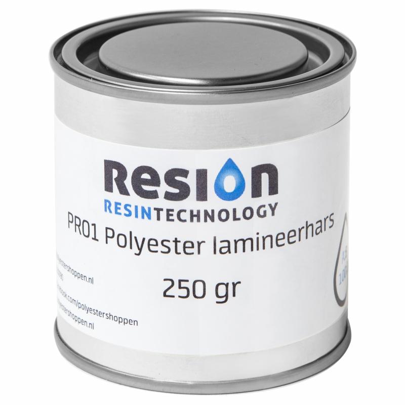 Polyester lamineerhars 250 gram