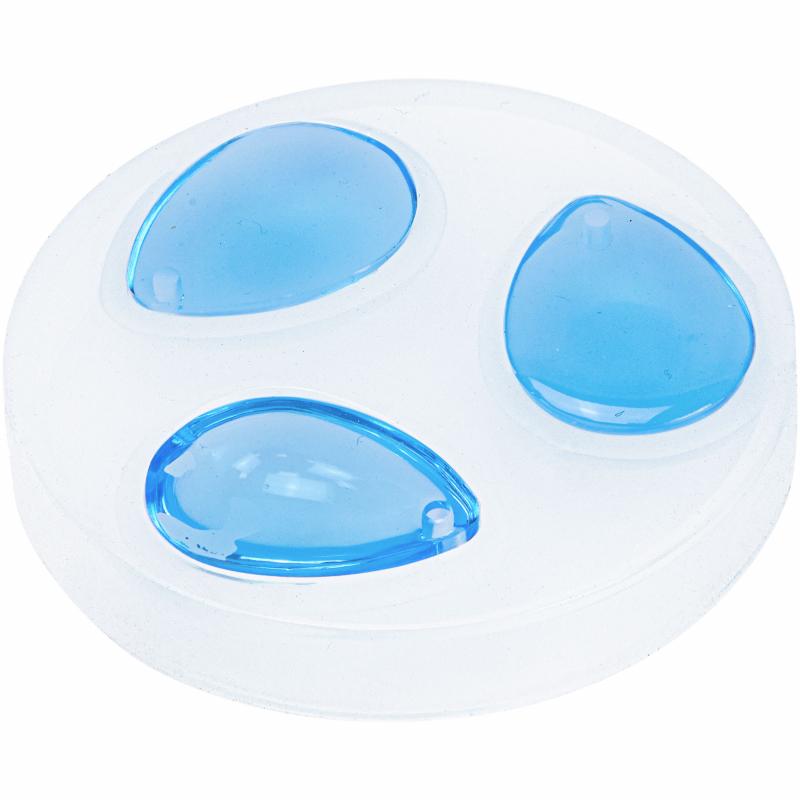 Siliconen mal 3 ovalen