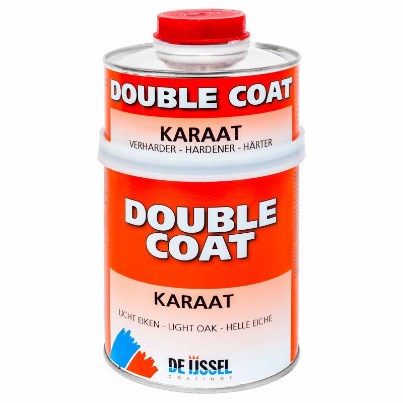 De IJssel Double Coat Laque DD Carat Teck Chêne Acajou