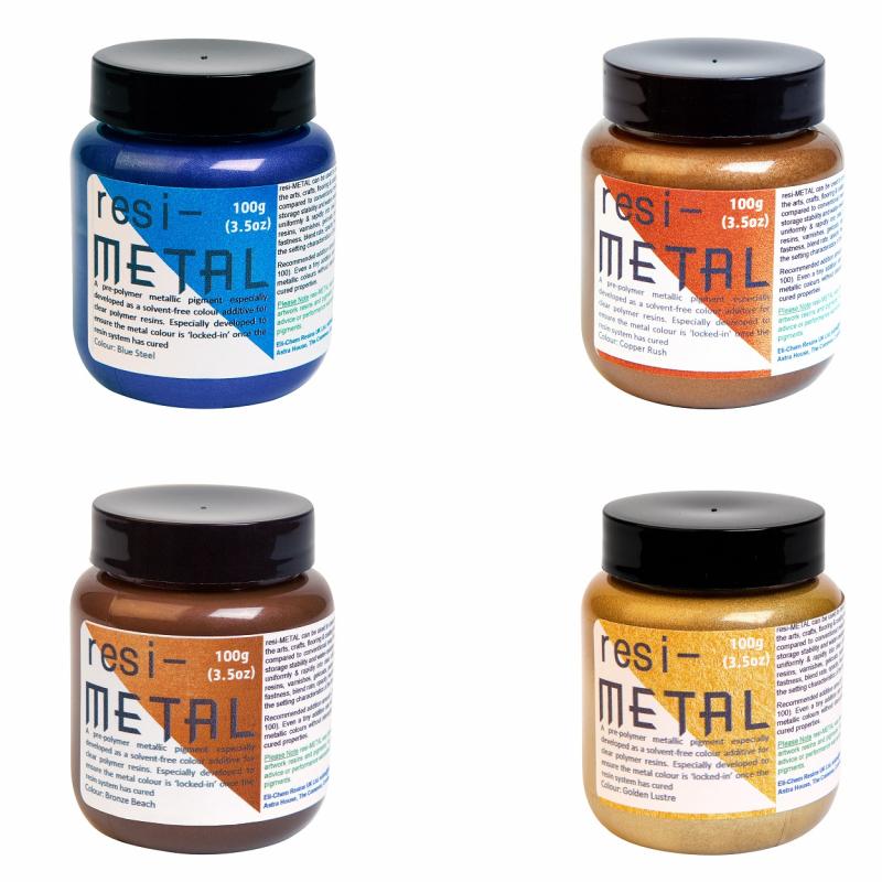Resi-Metal pigmenten