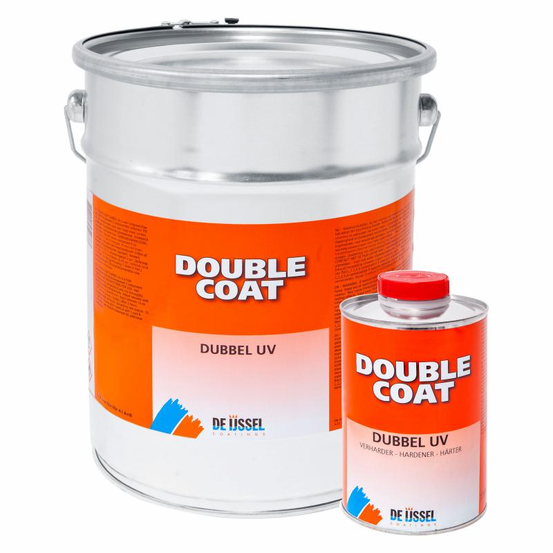 De IJssel Double Coat Vernis DD Double UV Bidon de 4 litres avec durcisseur