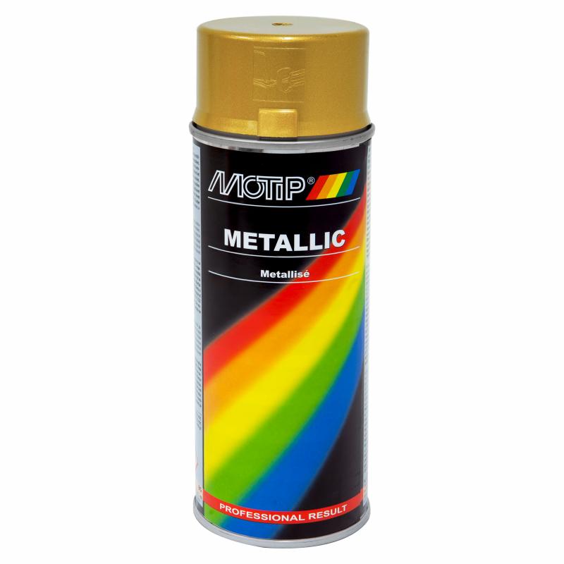 MOTIP peinture métallisée or