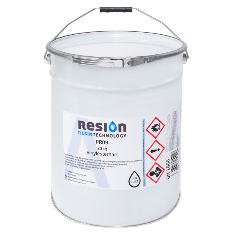 Résine vinylester 25 kg
